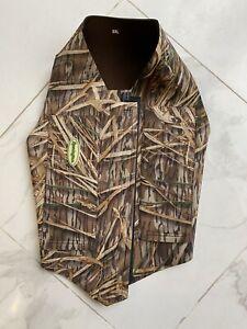 Remington Neoprene Dog Vest XXL Hunting Waterfowl Mossy Oak Shadow Grass 3 MM