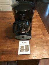 Mr. Coffee SK13 12-Cup Manual Coffeemaker, Black