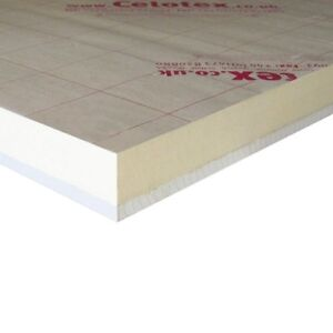 CELOTEX PL4000 THERMAL INSULATED PLASTERBOARD 37.5MM - MULTIPLE QUANTITIES