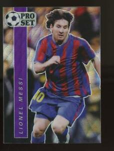 2021 Leaf Pro Set Special Edition Wave Purple #S03 Lionel Messi /35