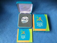 2006 $5 Fine Silver proof Queens Baton Relay Commonwealth Games