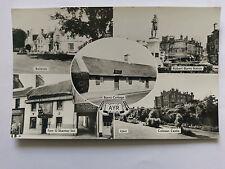 Ayr Vintage B&W Postcard c1960s Multi view