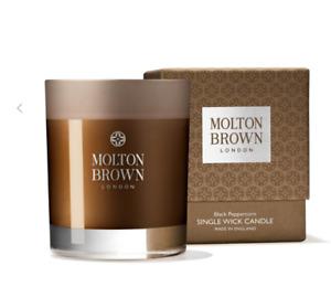 Molton Brown Black Peppercorn Single Wick Candle 180g