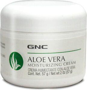 GNC Aloe Vera Moisturizing Cream, 2 Oz (57 g) - Imported from USA