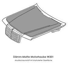 Mercedes Benz W201 Dämmmatte Abdämpfung Motorhaube Dämpfung Motor Neu 190-er