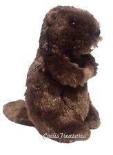"""Douglas Buddy BEAVER 7"""" Plush Stuffed Animal Cuddle Toy NEW"""