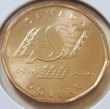 2010 Canada Saskatchewan Roughriders Loonie One Dollar Coin. (UNC.)