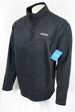 Columbia Men's Steens Mountain Half Snap Fleece Pullover XL Black AM0251 010