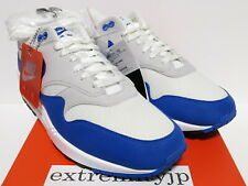 9a1ce59ec0 DS 2017 NIKE AIR MAX 1 ANNIVERSARY white/game royal 908375-102 sz 10.5