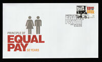 Australia 2019 Principle of Equal Pay 50 Years - First Day Cover. Mint Condition