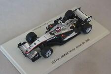 Spark S4304 - MCLAREN MP4-20 n°10 1er GP F1 Gde Bretagne 2005 JP. Montoya 1/43