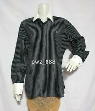 BURBERRY Black Label Striped Polo Blouse Size 4 on Tag