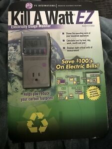 New P3 Kill A Watt P4460 Electricity Usage Monitor $ Save On Your Elctric Bills