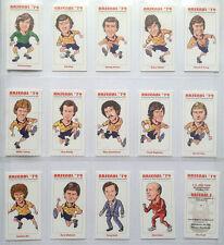 Arsenal 1979 FA Cup Ganadores Coleccionable Juego De Tarjetas