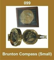 New Brunton Compass Small Nautical Outdoor Navigation GEc