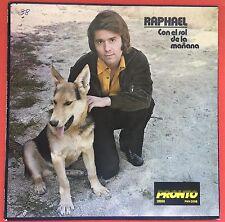 Raphael Con El Sol De La Mañana Espera Mi Amor PRONTO 1976 MINT
