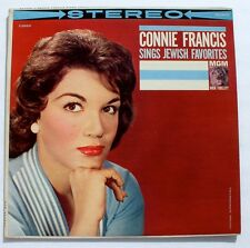 CONNIE FRANCIS Sings Jewish Favorites - STEREO LP - Havah Negilah / 11 more