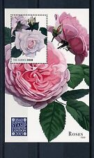The Gambia 2015 MNH Roses Europhilex Stamp Exhibition London 1v S/S Flora