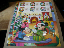 SINGAPORE  SOVERNIR CARD/ SHEET  - POOH WINTER HOLIDAY- MICKY AND MINNIE  MOUSE