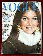 Vogue Magazine ~ September 15, 1970 ~ Ann Turkel Loulou de La Falaise by Avedon