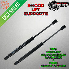 New Replacement Hood Shocks Lift Supports Arms For Crown Victoria Grand Marquis