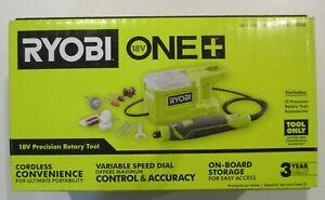 Ryobi ONE+ 18V PRT100B Cordless Precision Rotary Tool **Tool Only** NEW SEALED