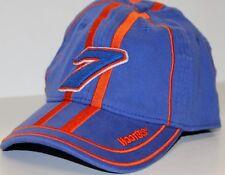 HOOTERS #7 Blue Cap ~ ENERGY RACING STRIPE ~ Men's Hat- NEW - Hex Flex L/XL
