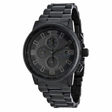 NEW Citizen NightHawk Men's  Chronograph EcoDrive Watch - CA0295-58E