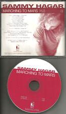 Van halen SAMMY HAGAR Marching to Mars w/ RARE RADIO EDIT PROMO CD Single 1997