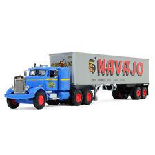 2018 First Gear 1:64 *NAVAJO* PETERBILT Model 351 Semi Truck 40' Vintage Trailer