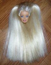 ❤️Barbie Doll Parts - University Cheerleader Barbie 1997 Paltinum Blonde Head❤️