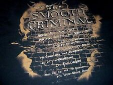 Michael Jackson SMOOTH CRIMINAL Shirt ( Used Size L )  Very Good Condition!!!