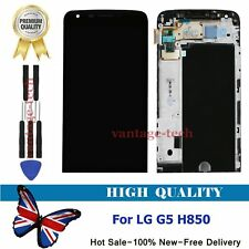 """For LG G5 H850 LCD Replacement Display Digitizer Touch Screen & Frame Black 5.3"""""""