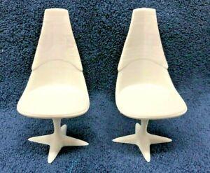 Star Trek TOS Mego Bridge Chairs for Helmsman & Navigator-Sulu & Chekov Worthy