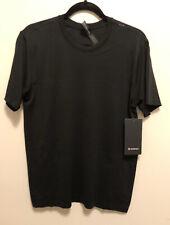 NWT Men's Lululemon Large Metal Vent Tech Breathe SS Short Sleeve Black BLK $78