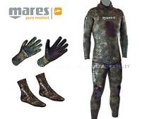 MUTA SUBACQUEA MARES CAMO GREEN 55 KIT MIMETICA TG 4 WETSUIT NEOPRENE OPENCELL