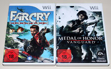 2 Nintendo Wii Jeux Set-Far Cry Vengeance & Medal of Honor Vanguard