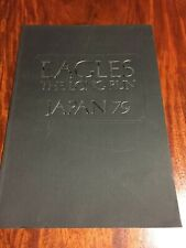 """""""Eagles"""" The Long Run Japan Tour 1979 Booklet From Japan Rare"""