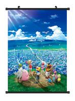 "Hot Anime Pokemon Monster Pikachu Home decor Poster Wall Scroll 8""x12"" F326"