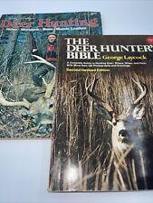 New ListingLot Of 2 1970s Hunting Books Deer Hunter's Bible And Dickey's Deer Hunting Vtg