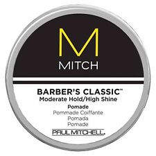 Paul Mitchell Mitch For Men Mitch Barber Classic Mod Hold High Shine Pomade 3 oz