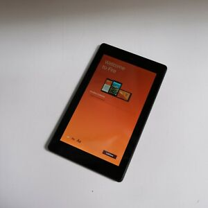 "Amazon Fire 7 Tablet With Alexa 7"" Display 16 GB 9th Generation SR043KL (Black)"