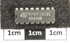 ST M74HC161B High-Speed CMOS Logic Presettable Counter DIL16