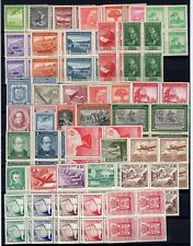 CHILE block of 4 MNH collection 70 differents must see