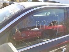 2008 2009 JAGUAR XJ8 XJR SUPER V8 VANDEN PLAS LEFT DRIVER FRONT DOOR GLASS