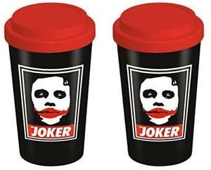 Official DARK KNIGHT Obey Joker 12oz Boxed Ceramic Travel Mug NEW & IN STOCK UK