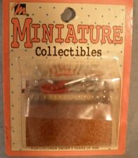 Dollhouse Miniatures Tool Box w/Tools Tote Caddy Handle Taiwan NIP