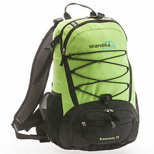 SKANDIKA BREAKAWAY zaini giorno/trekking/ciclismo 25 litros nero/verde nuovo