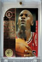 Rare Die Cut: 1995 95-96 SP CHAMPIONSHIP SERIES Michael Jordan #4, Rare Parallel