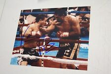 """VINNY PAZ SIGNED 8X10 PHOTO """"BLEED FOR THIS"""" 5X CHAMPION PAZIENZA VS DURAN"""